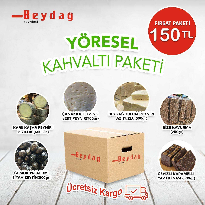 Beydağ Yöresel Kahvaltı Paketi